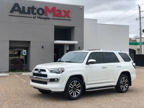 2018 Toyota 4Runner for sale at AutoMax of Memphis - V Brothers in Memphis TN