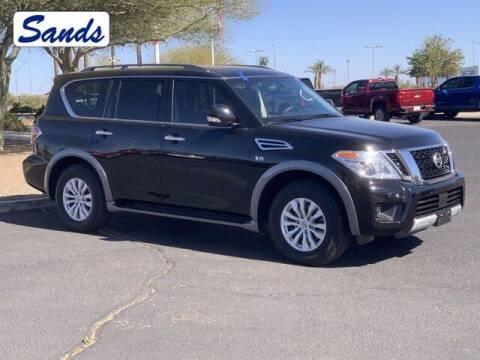 2017 Nissan Armada for sale at Sands Chevrolet in Surprise AZ