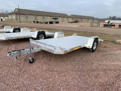 2021 Aluma 8214 HS Tilt #1132 for sale at Prairie Wind Trailers, LLC in Harrisburg SD