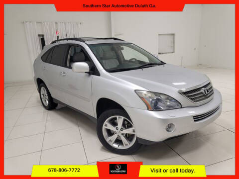 2008 Lexus RX 400h for sale at Southern Star Automotive, Inc. in Duluth GA