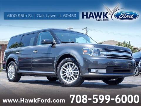 2018 Ford Flex for sale at Hawk Ford of Oak Lawn in Oak Lawn IL