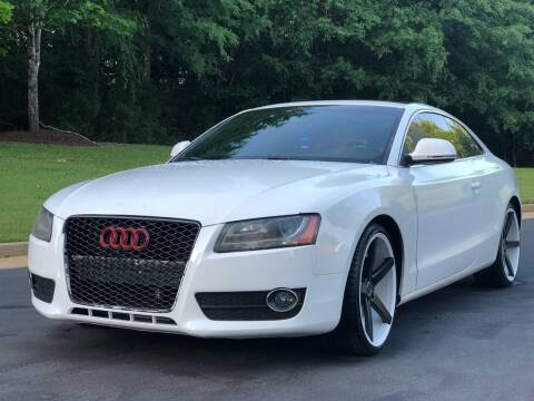 2009 Audi A5 for sale at Top Notch Luxury Motors in Decatur GA