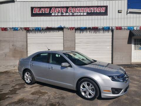 2012 Ford Fusion for sale at Elite Auto Connection in Conover NC