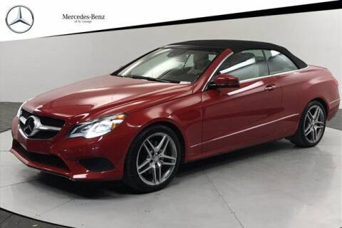 2014 Mercedes-Benz E-Class for sale at Stephen Wade Pre-Owned Supercenter in Saint George UT