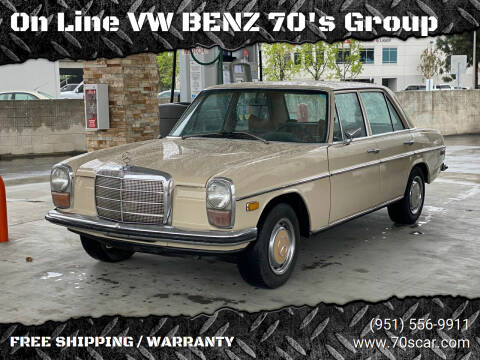 1970 Mercedes-Benz 220 Diesel for sale at On Line VW BENZ 70's Group in Warehouse CA