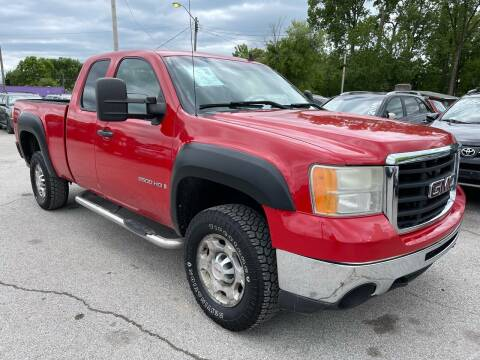 2009 GMC Sierra 2500HD for sale at Empire Auto Group in Indianapolis IN