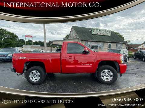 2011 Chevrolet Silverado 1500 for sale at International Motor Co. in Saint Charles MO