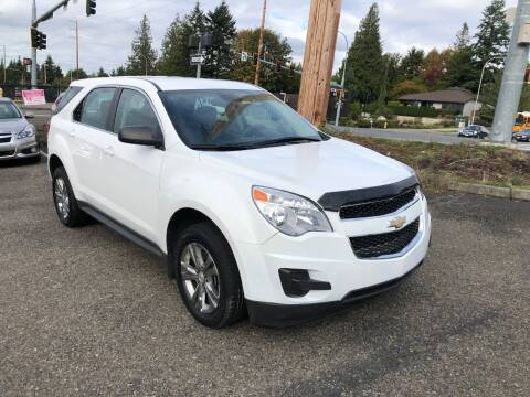 2012 Chevrolet Equinox for sale at KARMA AUTO SALES in Federal Way WA