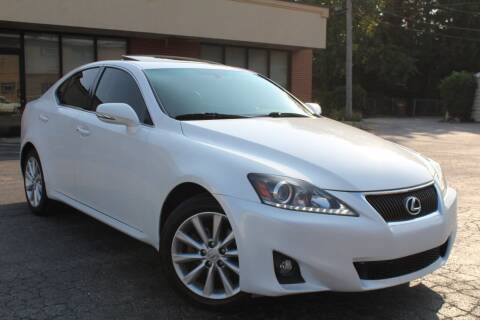 2012 Lexus IS 250 for sale at JZ Auto Sales in Summit IL