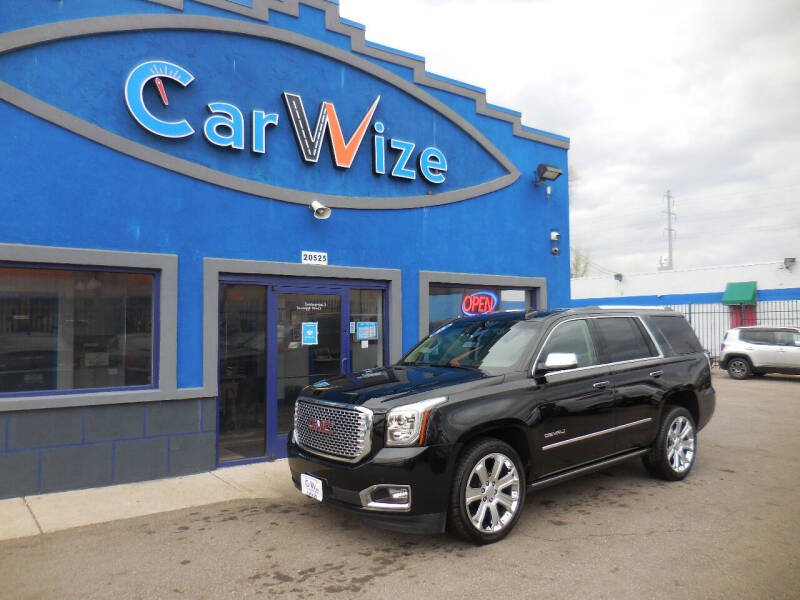 2015 GMC Yukon for sale at Carwize in Detroit MI
