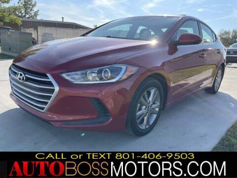 2017 Hyundai Elantra for sale at Auto Boss in Woods Cross UT