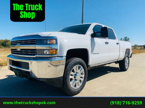 2015 Chevrolet Silverado 2500HD for sale at The Truck Shop in Okemah OK