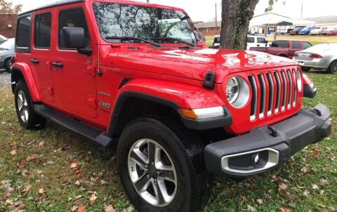 2018 Jeep Wrangler Unlimited for sale at Creekside Automotive in Lexington NC