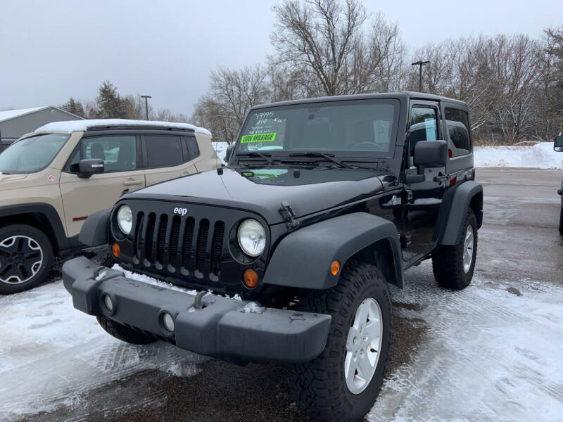 2012 Jeep Wrangler for sale at Blake Hollenbeck Auto Sales in Greenville MI