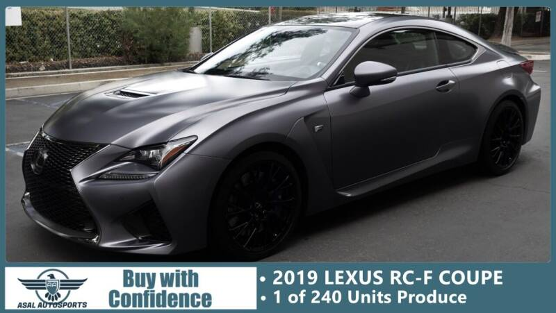 2019 Lexus RC F for sale at ASAL AUTOSPORTS in Corona CA