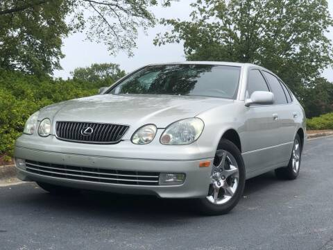 2001 Lexus GS 430 for sale at William D Auto Sales in Norcross GA