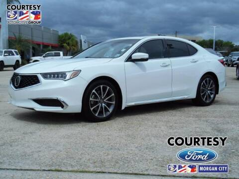 2018 Acura TLX for sale at Courtesy Toyota & Ford in Morgan City LA
