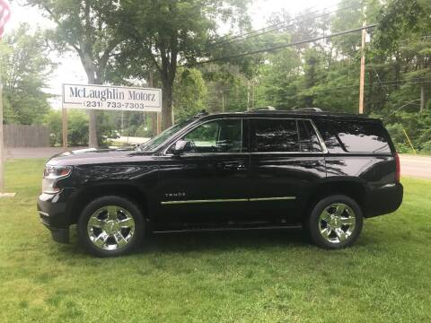 2017 Chevrolet Tahoe for sale at McLaughlin Motorz in North Muskegon MI