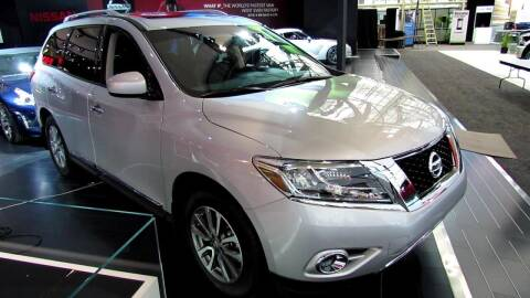 2013 Nissan Pathfinder for sale at Econo Auto Sales Inc in Raleigh NC
