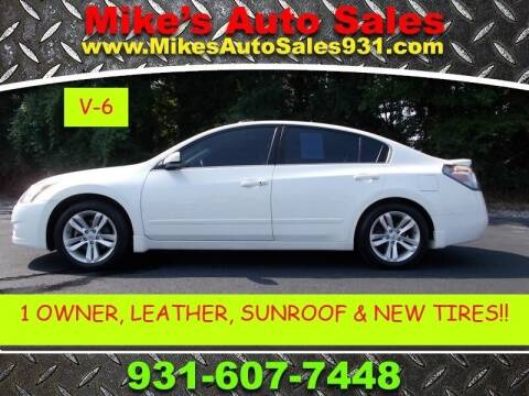 2010 Nissan Altima for sale at Mike's Auto Sales in Shelbyville TN
