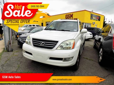 2008 Lexus GX 470 for sale at GSM Auto Sales in Linden NJ