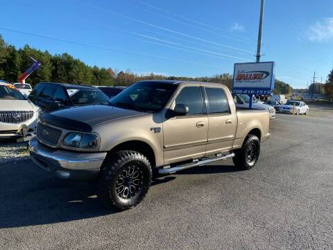 2003 Ford F-150 for sale at Billy Ballew Motorsports in Dawsonville GA