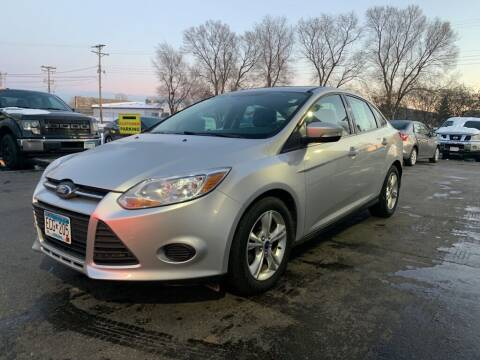 2013 Ford Focus for sale at MIDWEST CAR SEARCH in Fridley MN