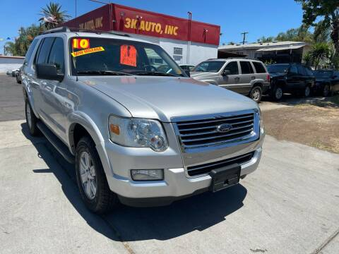 2010 Ford Explorer for sale at 3K Auto in Escondido CA