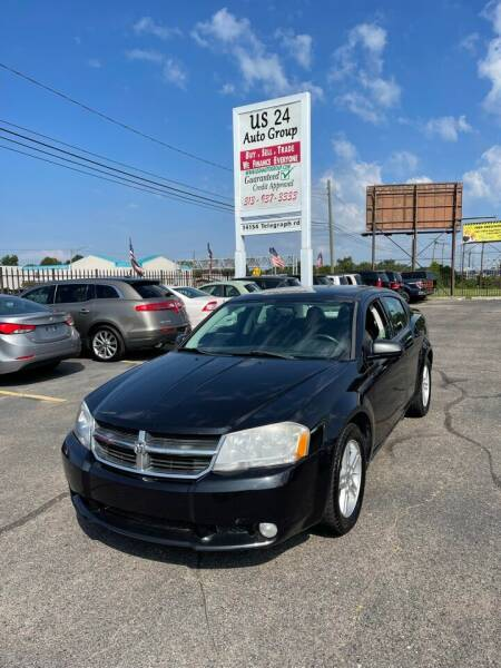 2010 Dodge Avenger for sale at US 24 Auto Group in Redford MI