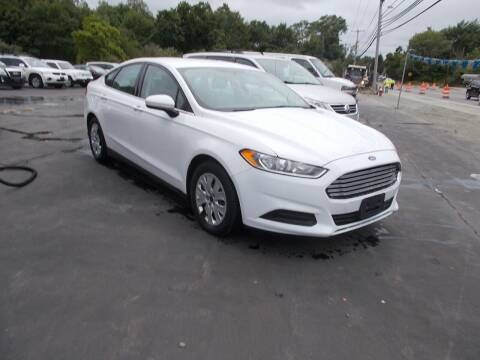 2014 Ford Fusion for sale at MATTESON MOTORS in Raynham MA