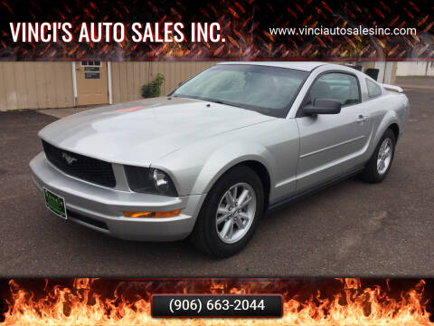 2005 Ford Mustang for sale at Vinci's Auto Sales Inc. in Bessemer MI