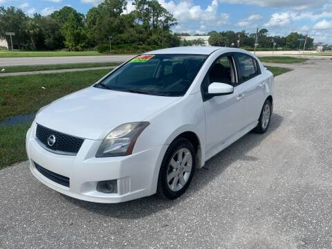 2012 Nissan Sentra for sale at EXECUTIVE CAR SALES LLC in North Fort Myers FL