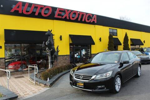 2013 Honda Accord for sale at Auto Exotica in Red Bank NJ