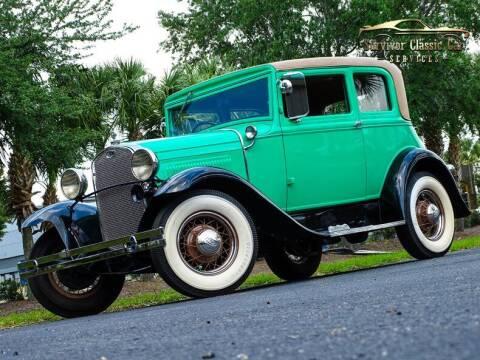 1930 Ford Model A for sale at SURVIVOR CLASSIC CAR SERVICES in Palmetto FL