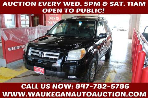 2007 Honda Pilot for sale at Waukegan Auto Auction in Waukegan IL