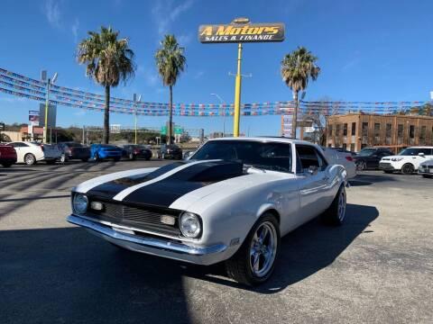 1967 Chevrolet Camaro for sale at A MOTORS SALES AND FINANCE in San Antonio TX