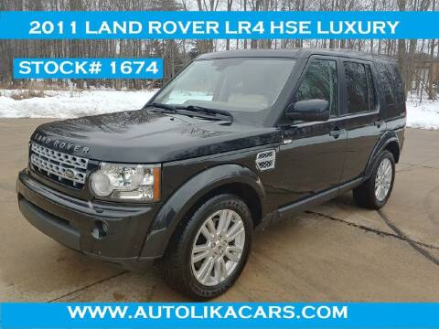 2011 Land Rover LR4 for sale at Autolika Cars LLC in North Royalton OH