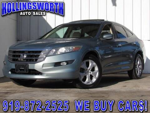 2010 Honda Accord Crosstour for sale at Hollingsworth Auto Sales in Raleigh NC
