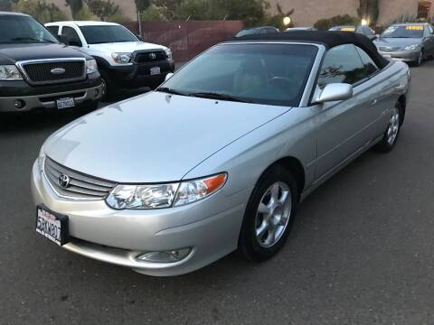 2003 Toyota Camry Solara for sale at C. H. Auto Sales in Citrus Heights CA
