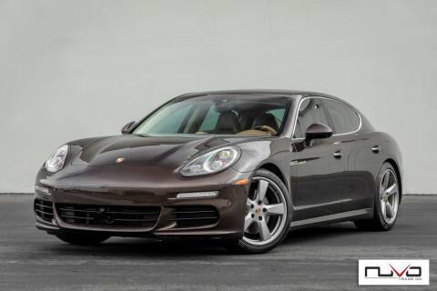 2014 Porsche Panamera for sale at Nuvo Trade in Newport Beach CA