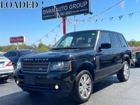 2010 Land Rover Range Rover for sale at Divan Auto Group in Feasterville Trevose PA