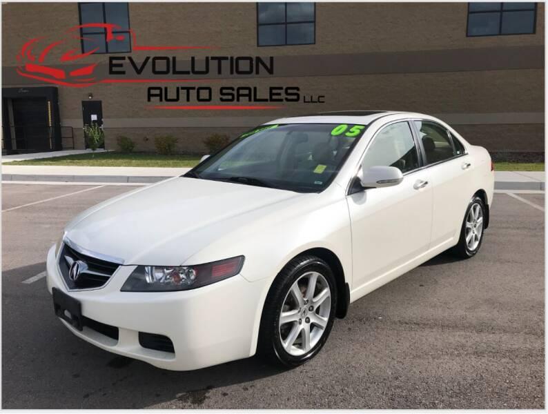 2005 Acura TSX for sale at Evolution Auto Sales LLC in Springville UT