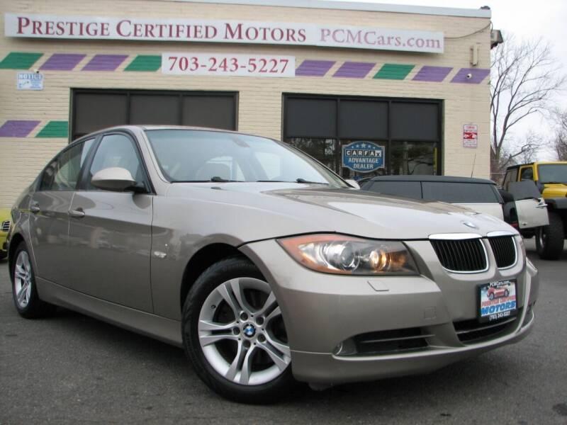 2008 BMW 3 Series for sale at Prestige Certified Motors in Falls Church VA