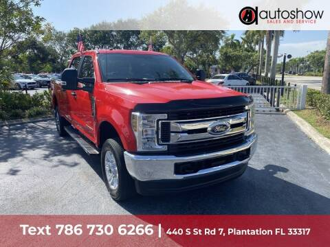 2019 Ford F-350 Super Duty for sale at AUTOSHOW SALES & SERVICE in Plantation FL