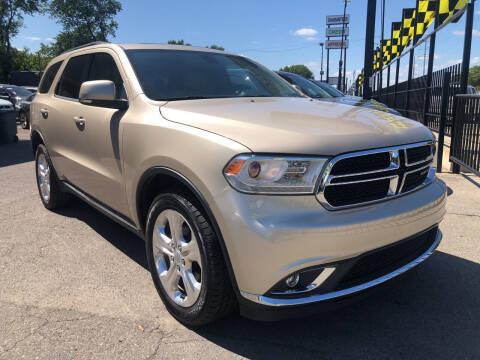 2014 Dodge Durango for sale at Champs Auto Sales in Detroit MI