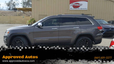 2014 Jeep Grand Cherokee for sale at Approved Autos in Bakersfield CA