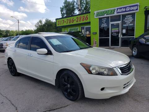 2008 Honda Accord for sale at Empire Auto Group in Indianapolis IN