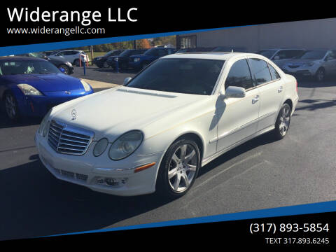 2007 Mercedes-Benz E-Class for sale at Widerange LLC in Greenwood IN