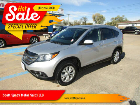 2012 Honda CR-V for sale at Scott Spady Motor Sales LLC in Hastings NE