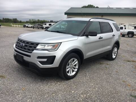 2017 Ford Explorer for sale at FAIRWAY AUTO SALES in Augusta KS